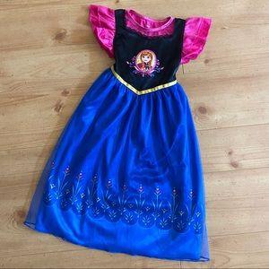 Disney's Frozen Anna Girls Fantasy Gown Nightgown